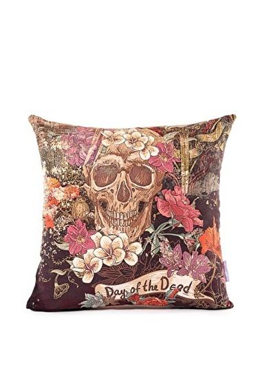 home-bath Kırlent Skull Renkli